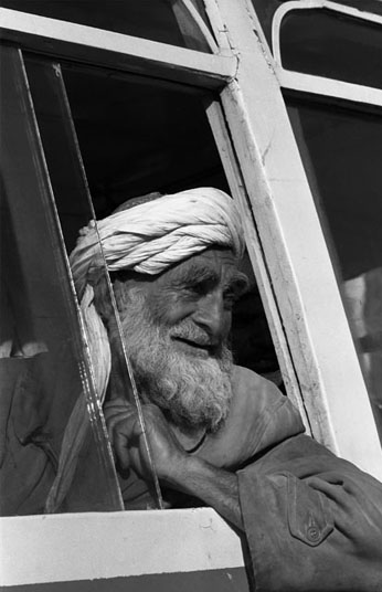 BUS WINDOW – KABUL, 1973