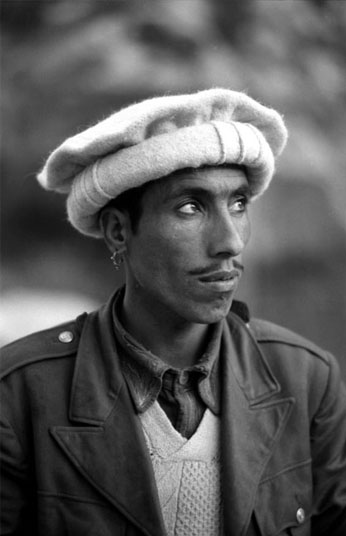 MAN IN PAKOL HAT – ON THE ROAD IN BADAKHSHAN PROVINCE, 1971